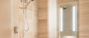 Acclaim-Lighted-In-Shower-Fog-Free-Mirror-closeup